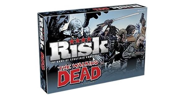 Risk Risk Walking Dead Board Game by Risk: Amazon.es: Juguetes y juegos