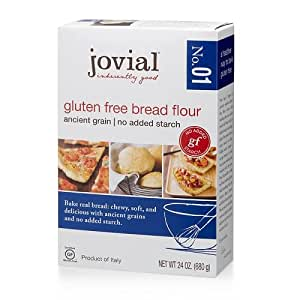 Amazon.com : Jovial Flour, Gluten Free, 24 Oz, ( Pack of 1
