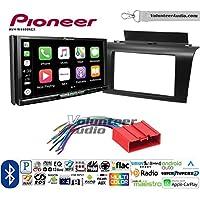 Volunteer Audio Pioneer AVH-W4400NEX Double Din Radio Install Kit with Wireless Apple CarPlay, Android Auto, Bluetooth Fits 2004-2009 Mazda 3