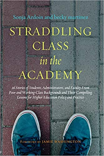 cover image, Straddling Class in the Academy