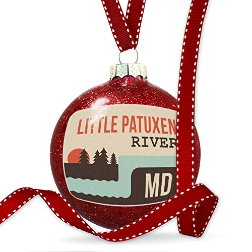Christmas Decoration USA Rivers Little Patuxent River - Maryland - Patuxent Little