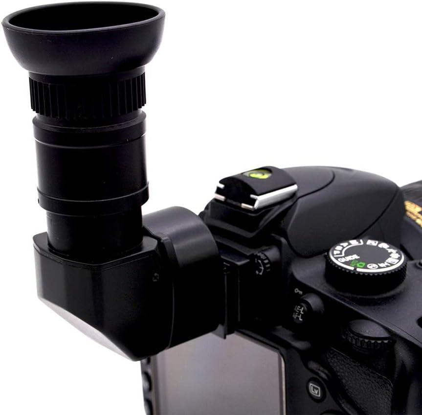 Soulitem 1.25X-2.5X - Visor de ángulo Recto para cámara Canon ...