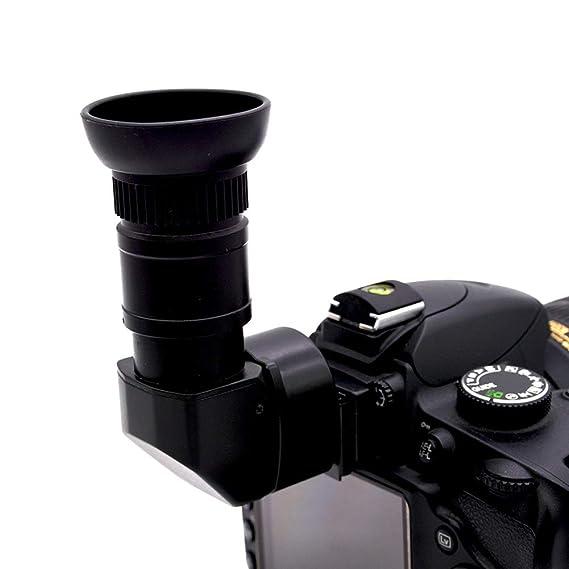 Soulitem 1.25X-2.5X Buscador de ángulo Recto Máquina de Visor para ...