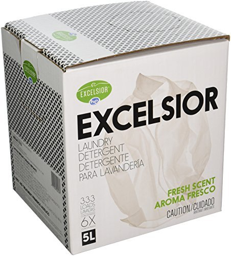 Excelsior SOAP5STAU Liter Laundry Detergent with Stain Remover, Fresh Scent by Excelsior