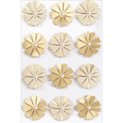 Martha Stewart Crafts Decorative Stickers, Elegant Nature Aster