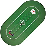 BBO Poker Portable Poker And Game Mat For 8 Players