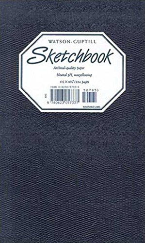 Sketchbook-Navy Blue Lizard Blank Book-5x8