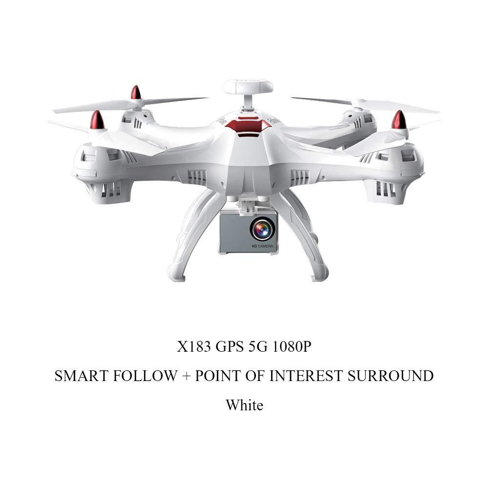 Weiß 5G 1080P Smart Follow + Fixpunkt Surround Fernsteuerungs-GPS-Brummen, Vierachsenflugzeug-Drohne 480 720   1080P, die Fernsteuerungsflugzeuge, 2.4G   5G Berufsmodell-Brummen fotografiert