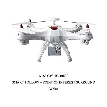 Clevoers X183s - Tambor de 5 G con cámara GPS y Drone para ...