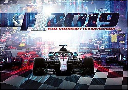 Amazon Fr F1 2019 Formule 1 Calendrier Mural 2019 Formula 1
