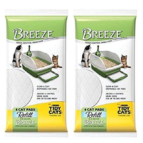 "Breeze Tidy Cat Litter Pads 16.9""x11.4"""
