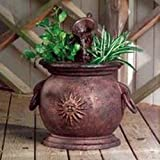 New Little Giant 566763 Yard Copper Kettle Planter Water Fountain Pump 812-1907