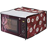 Dream Care Floral Printed Microwave Oven Cover For Ifb 20 Liter Convection Microwave Oven 20Sc2