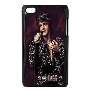 iPod Touch 4 Case Black Elvis Presley nwjw