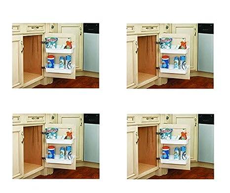 Amazon.com: Rev-a-shelf Juego de bandeja de puerta Gabinete ...