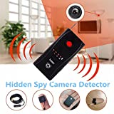 Spy Camera Detector Wireless Bug Detector, Auhko A7 Anti-spy Camera Bug RF Signal Detector Wireless Hidden Camera GPS Tracker Higher Sensitivity Multi-Functional GSM Device Finder