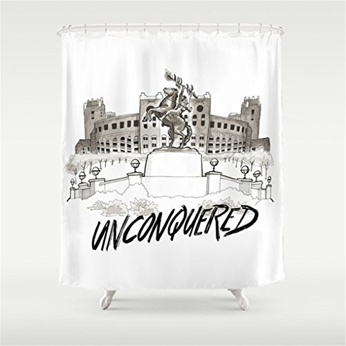 Weeya Unconquered - FSU Print Shower Curtain 60x72 ()