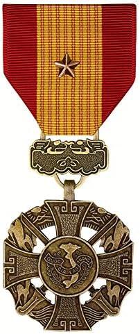 [해외]Vietnam Gallantry Cross Medal With Bronze Star / Vietnam Gallantry Cross Medal With Bronze Star
