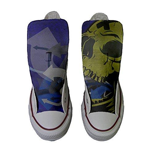 Teschio Artigianale personalizzate unisex Star Con CONVERSE All Sneaker Prodotto I86Wwq7zq