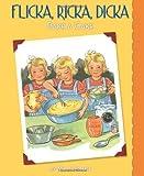 Flicka, Ricka, Dicka Bake a Cake, Maj Lindman, 0807525065