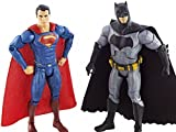 Sanyal Batman Vs Superman: Action Figure character toys for kids with Light & Music