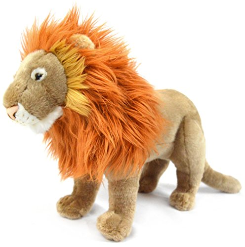 VIAHART Leif The Lion | 16 Inch (Tail Measurement not Included!) Stuffed Animal Plush | by Tiger Tale Toys -