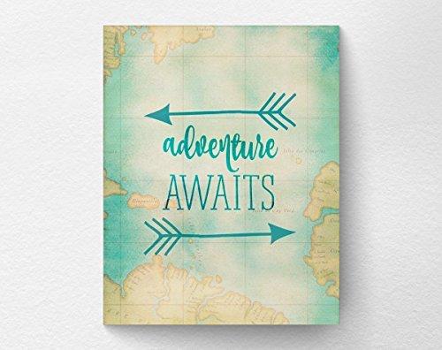 Adventure Awaits Travel Nursery Graduation product image