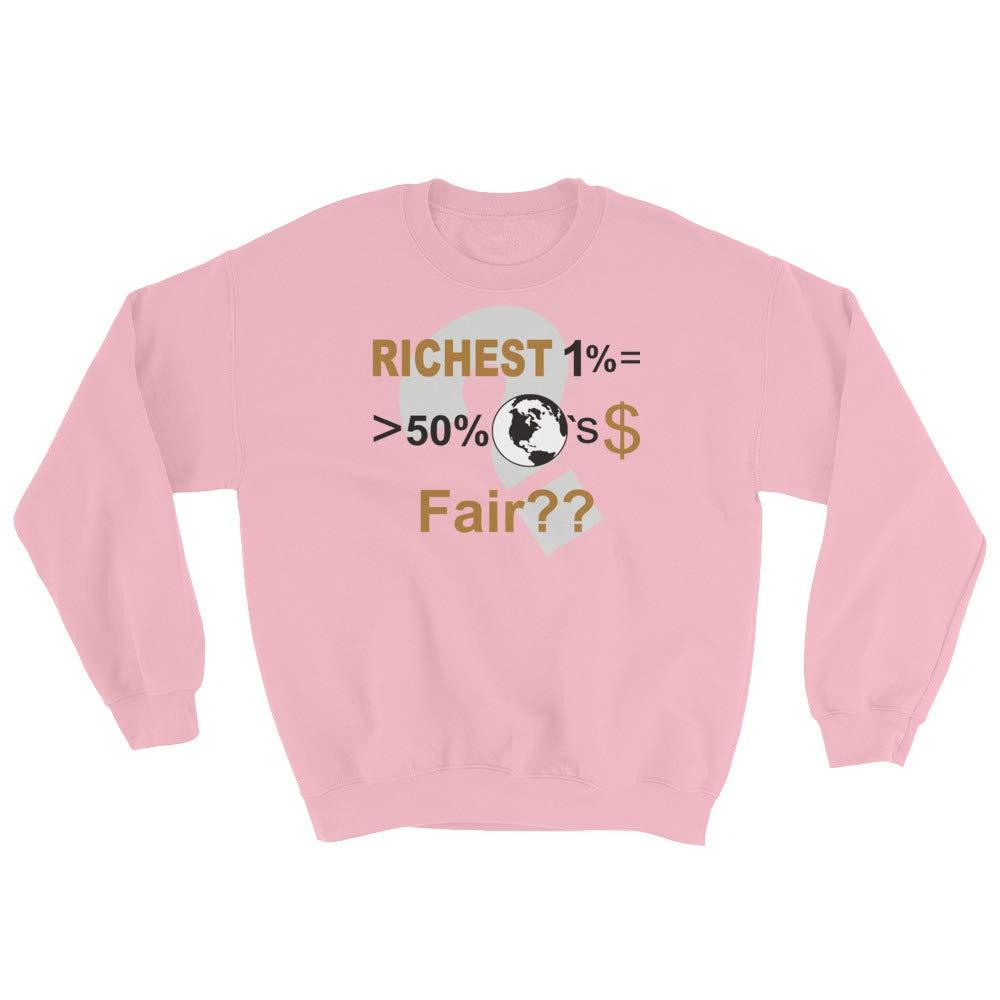 Sweatshirt Light Pink STFND Richest 1/%