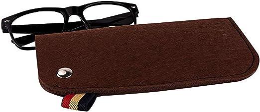PG6 FF1 Brillenetui f/ür Sonnenbrille weicher Filz tragbar originelles Design