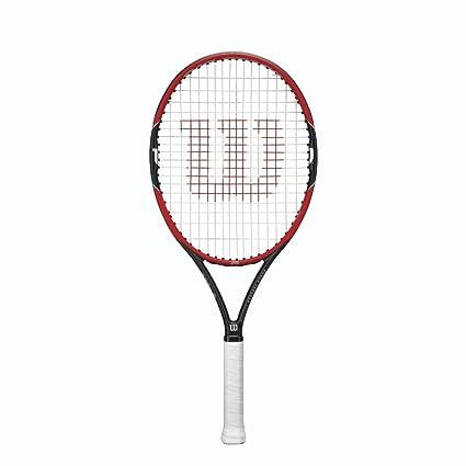 Wilson Pro Staff >> Amazon Com Wilson Pro Staff Junior Racquet 25 Inch Sports