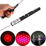 650nm 5mw High Power Red Laser Pointer Beam With Star Cap Head