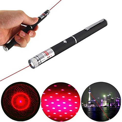 650nm 5mw High Power Red Laser Pointer Beam with Star Cap Head MAUBHYA EBG986209EBG