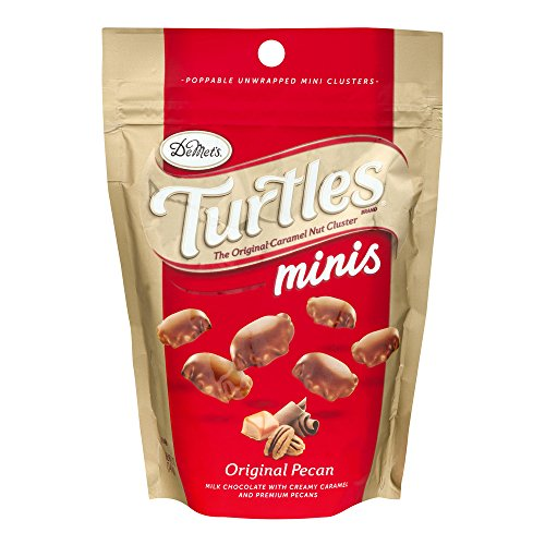 DeMet's Turtles Minis Original Pecan, 5.0 OZ ( pack of 2)