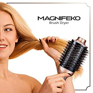 Hair Dryer Brush One Step Hot Air Brush and Volumizer blow dryers Negative Ions Hair Brush Dryer Straightener Styler