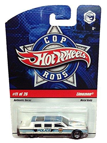 Cop Rods Hot Wheels - Hot Wheels Cop Rods Die Cast #11 Of 26 Limozeen