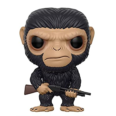Funko POP Movies War for The Planet of The Apes Caesar Action Figure: Funko Pop! Movies:: Toys & Games