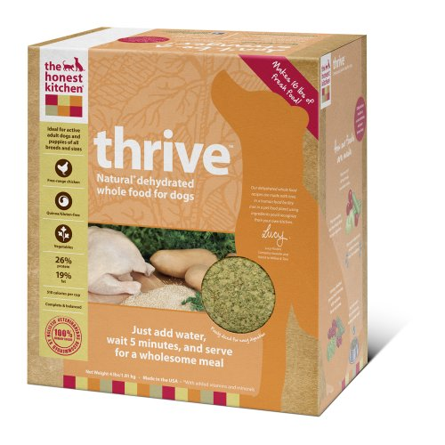 The Honest Kitchen Thrive Gluten-Free Dog Food, 4-Pound, My Pet Supplies