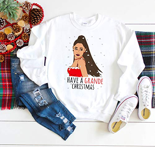 Grande Christmas, Have a Grande Christmas Celebrity, For Best Friend Christmas Sweater, Ugly Christmas funny shirt, Funny Woman Shirt