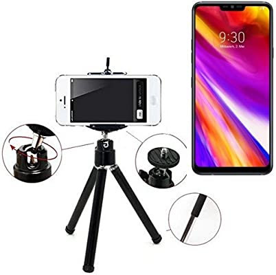 K-S-Trade Smartphone trípode/Soporte móvil/trípode como Compatible ...