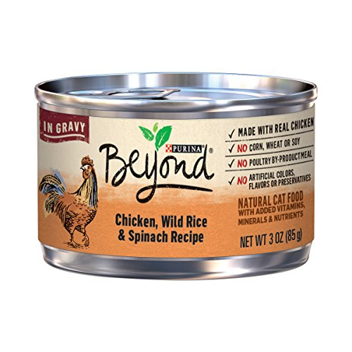 Purina Beyond Chicken, Wild Rice & Spinach Recipe In Gravy A