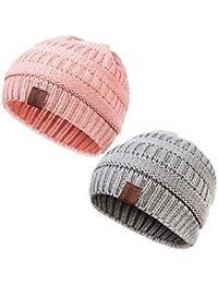 Kids Winter Warm Fleece Lined Hat 4c227099905c