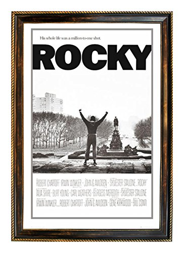 "Rocky Balboa Million To One Shot 24"" x 36"" Framed Movie Post"