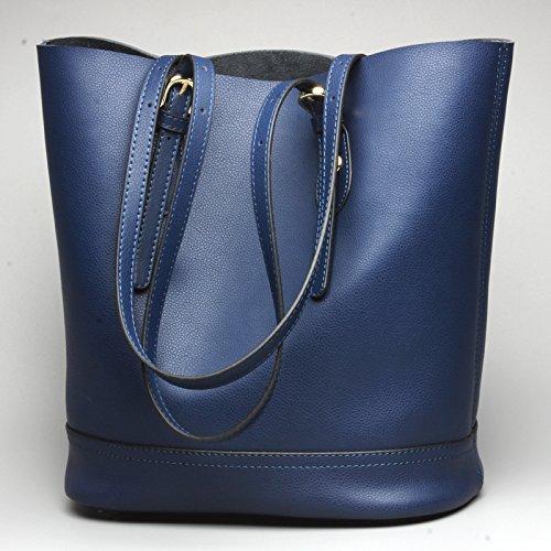 GUANGMING77 _Handtasche Schultertasche Handtasche Schaufel blue