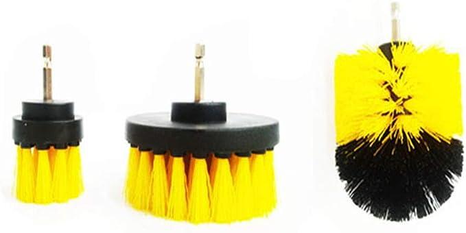 3pcs / Set Taladro cepillo rueda de coche del cepillo for el ...