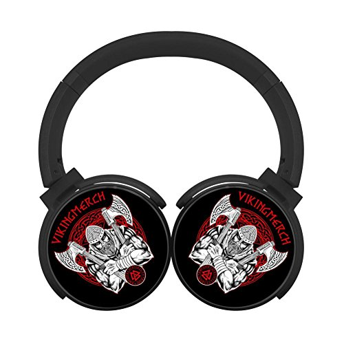 (MagicQ New Runner-up Viking Bluetooth Headphones,Hi-Fi Stereo Earphones Black)