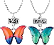 best friend necklace,friendship necklace for 2 MZLYQ Girls Birthday Gift for Girls,sister, Women,Couples jewel