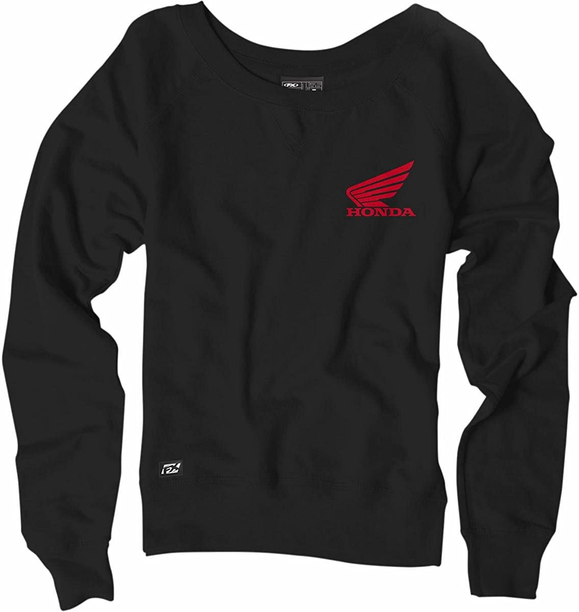 Factory Effex 18-88326 Girls' Sweatshirt Special Some reservation price Black Crew X-Large