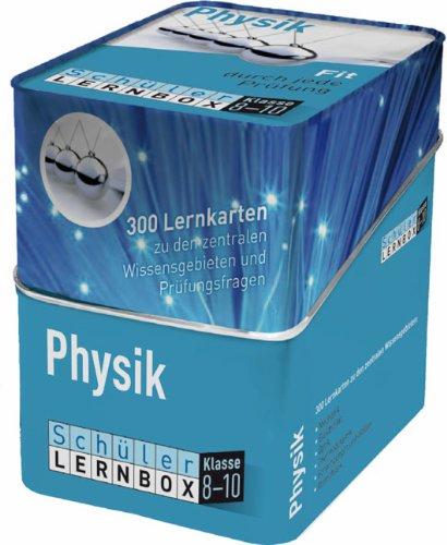 Schüler Lernbox Physik Klasse 8 10  300 Lernkarten Zu Den Zentralen Wissensgebieten Und Prüfungsfragen