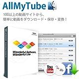 Wondershare AllMyTube(Mac版) Mac Web動画ダウンロード 動画変換 ソフト mac youtube ダウンロード  ワンダーシェアー