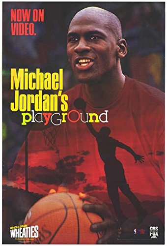 Michael Jordan's Playground Poster Movie 27x40 (Jordan Playground Poster)